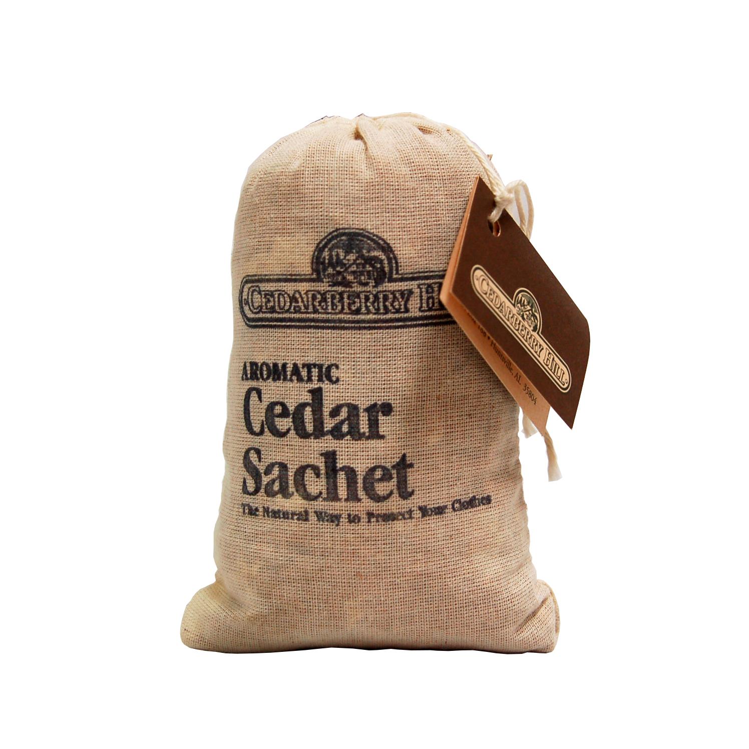 Cedar sachets