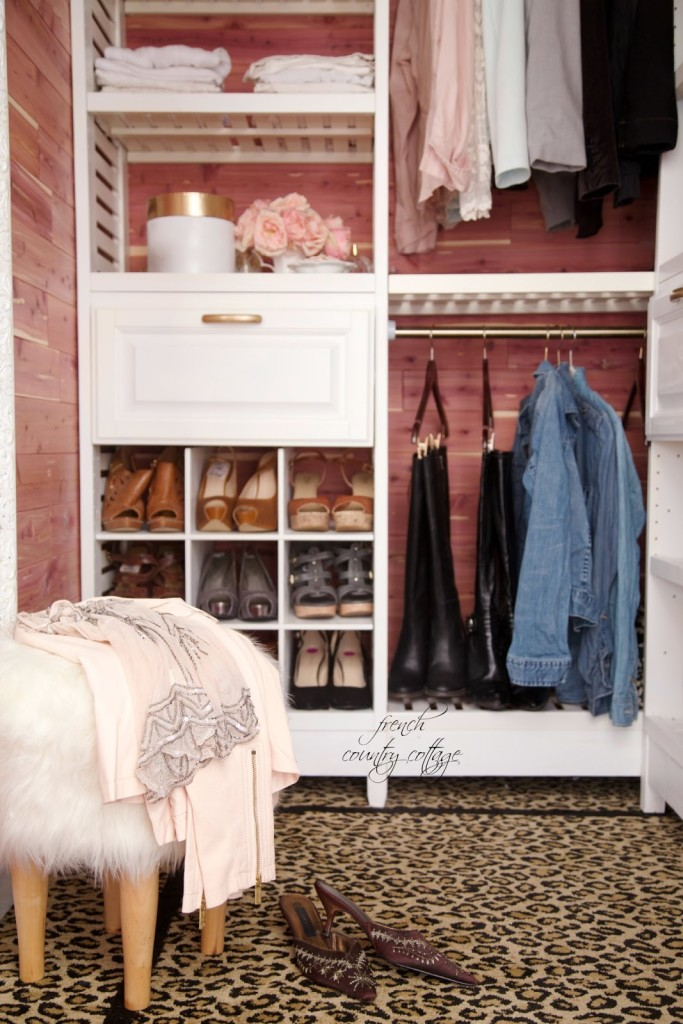 Glam Closet Makeover