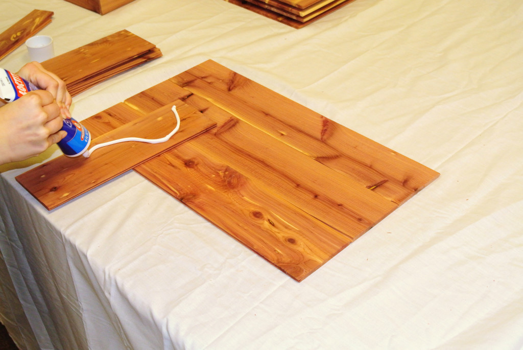 Cedar Tray How To