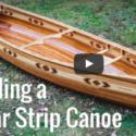 AWESOME Cedar Strip Canoe