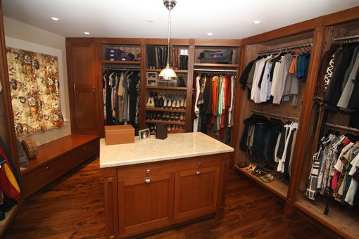The Customeru0027s Input Contributed Greatly To This Master Closet Design, As  She Is Also A Designer. She Wanted The Aromatic Cedar Interiors.
