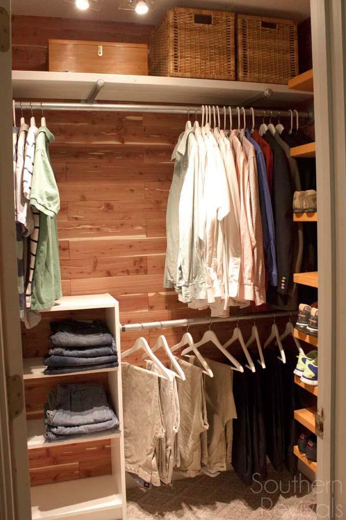 A Cedar Closet For Everyone Man