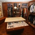 Check It Out!: Custom Mahogany & Aromatic Cedar Closet